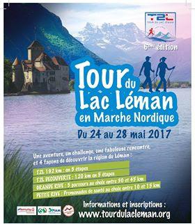 La Tour du Lac Léman 24-28 Mai 2017