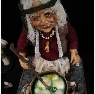 Abba la Sorcière - Joane Chopard de Mademoiselle fait des Gâteaux