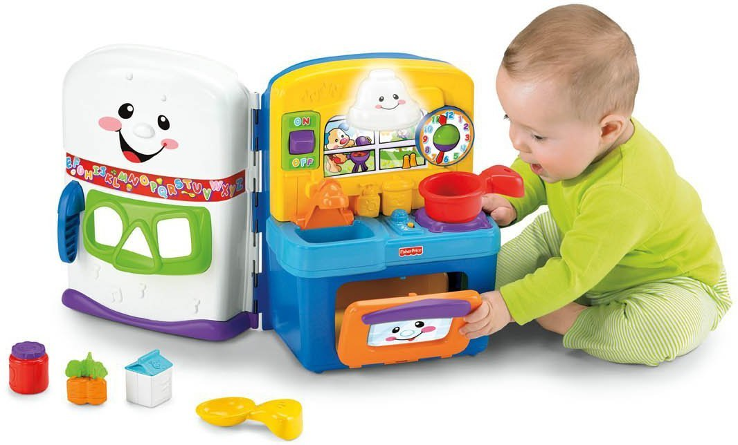 Fisher Price Laugh Learn Baby Kitchen Used
