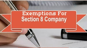 Exemptions-Section-8-Company-Companies-Act-2013