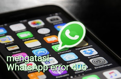 Mengatasi whatsapp error