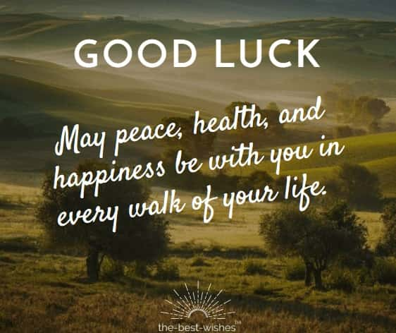 Good Luck Blessings Quote For Future