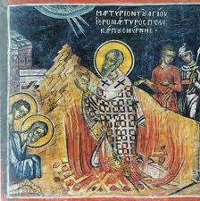 Commemoration of Polycarp of Smyrna – Pastor and Martyr