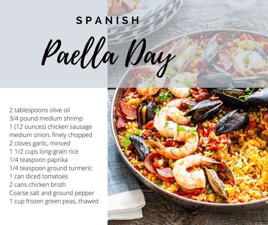 National Spanish Paella Day Wishes Lovely Pics