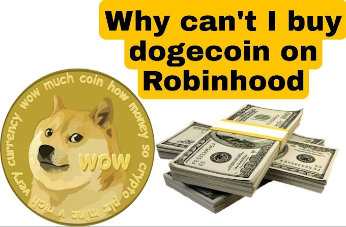 Why can't i buy dogecoin on robinhood