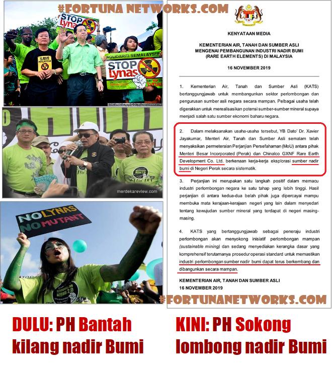 #BubarParlimen; Dulu, Regime PH Bantah Pelaburan Dari Negara China