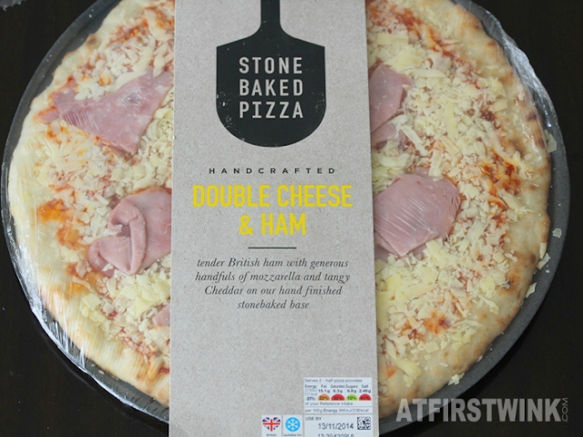 Marks and Spencer (M&S) Double Cheese and Ham Stone Baked Pizza