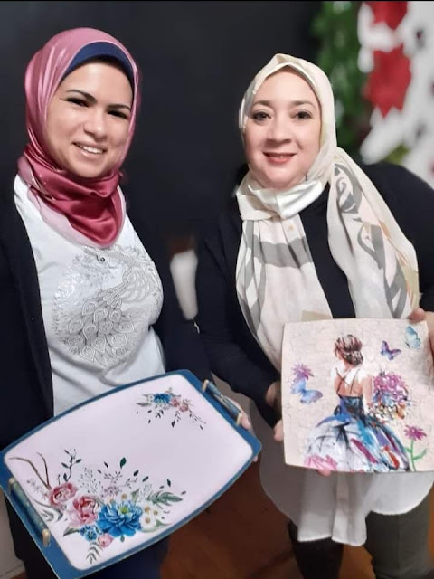 إنجي بدوي فنانة مصرية متعددة المواهب