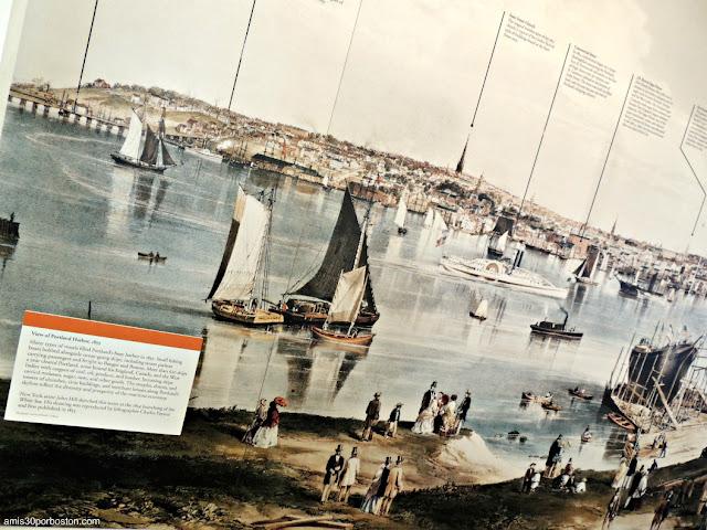 Puerto de Portland en el Museo del Faro