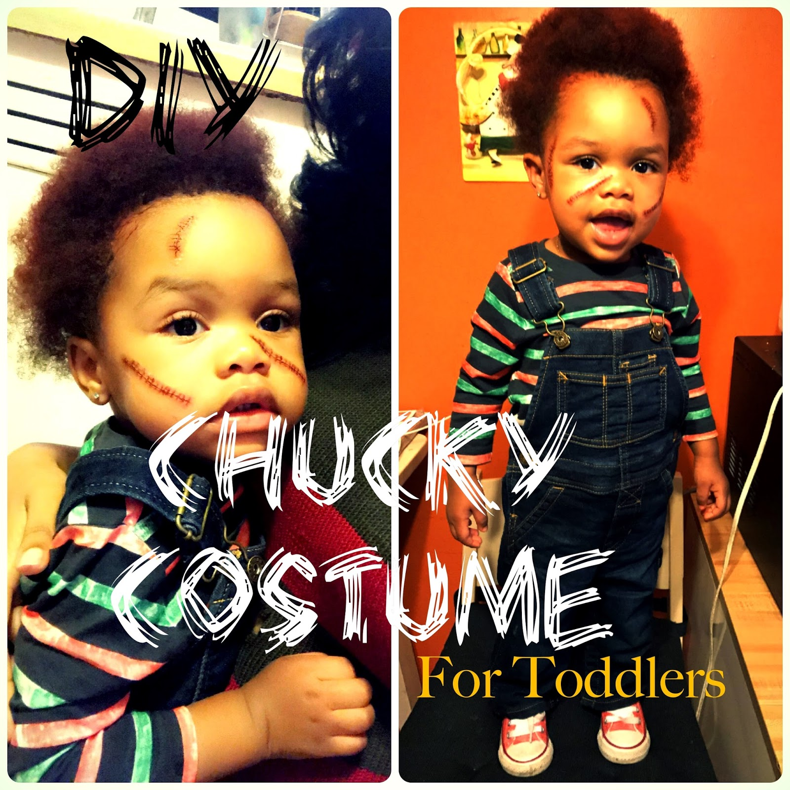 Chucky halloween costume DIY for Toddlers  sc 1 st  Sheu0027s Wright : chuckie halloween costume  - Germanpascual.Com