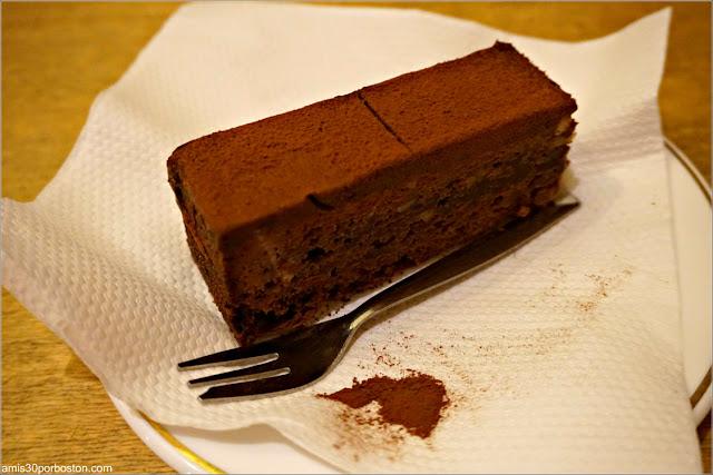 Pastel de Chocolate en Bakhuys Amsterdam
