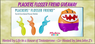 Enter the Plackers Flosser Friend Giveaway. Ends 5/31