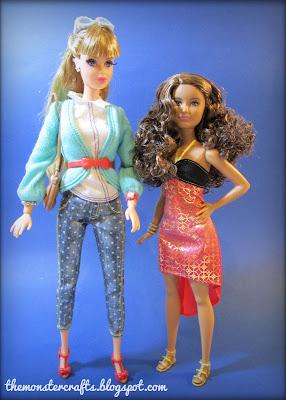 Barbie fashionista Style Luxe Midge