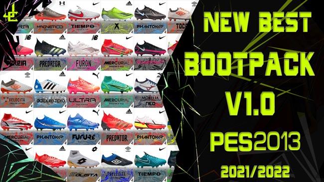 New Best Bootpack V1.0 Season 2021-2022 For PES 2013