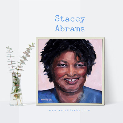 stacey-abrams-painting-merrill-weber
