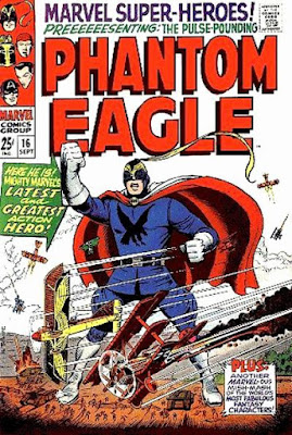 Marvel Super-Heroes #16, the Phantom Eagle