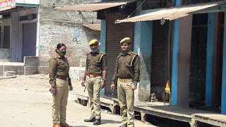 जौनपुर : जनता कर्फ्यू का दिखा असर, प्रशासन रहा अलर्ट