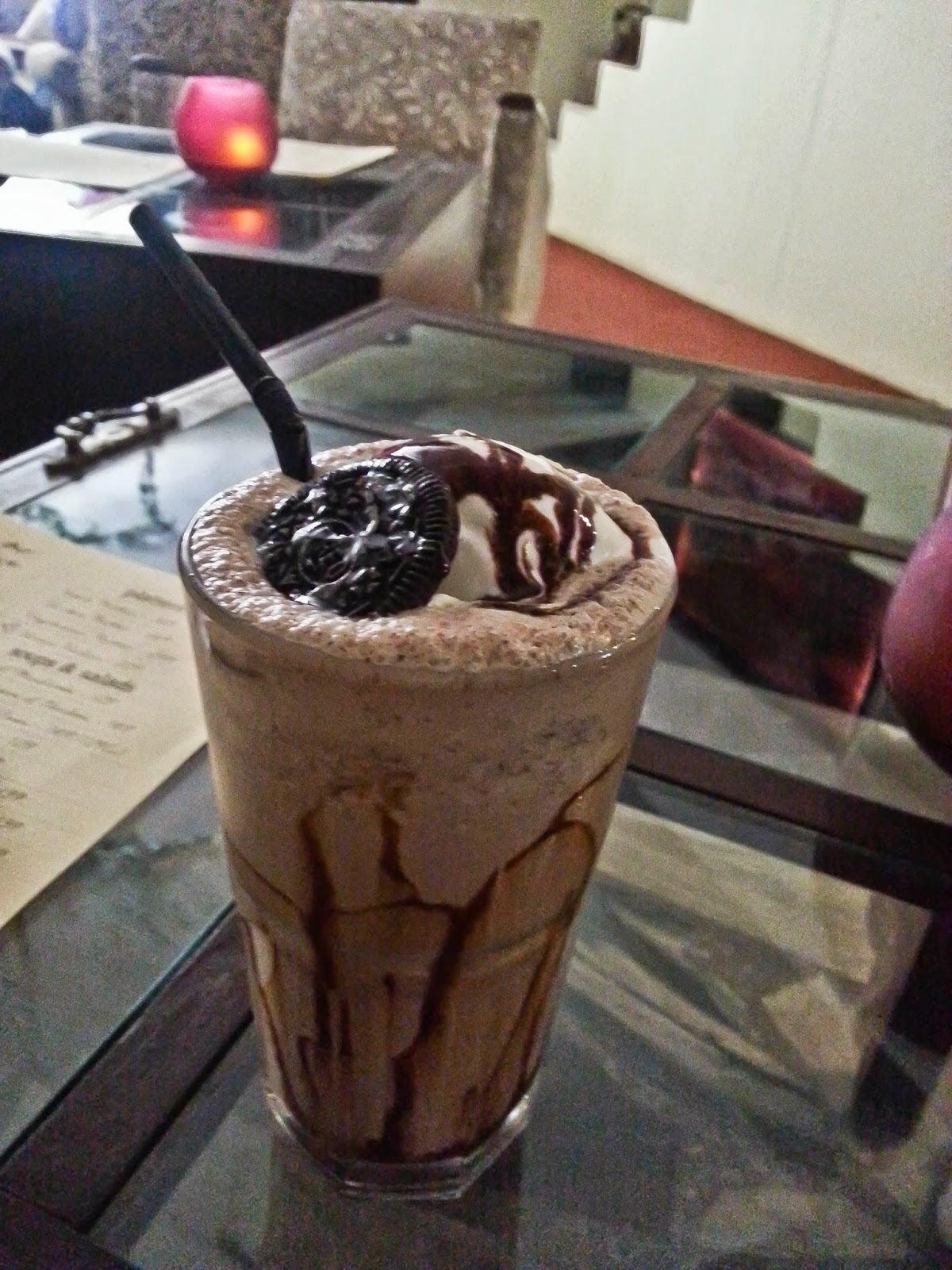 Oreo Shake at Quesa Lounge, Noida