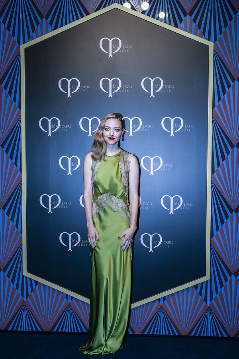 Amanda Seyfried at Fairmont Peace Hotel in Shanghai
