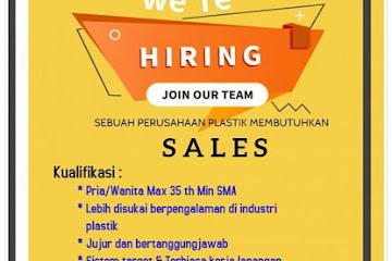 Lowongan Kerja Bandung Sales PT. Trimandiri Plasindo