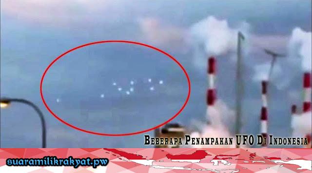 Beberapa Penampakan UFO Di Indonesia