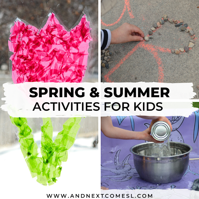 Spring and summer activities for kids