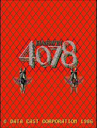 Darwin 4078のタイトル画面