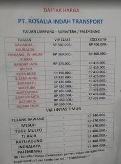Harga Rosalia Indah Semarang