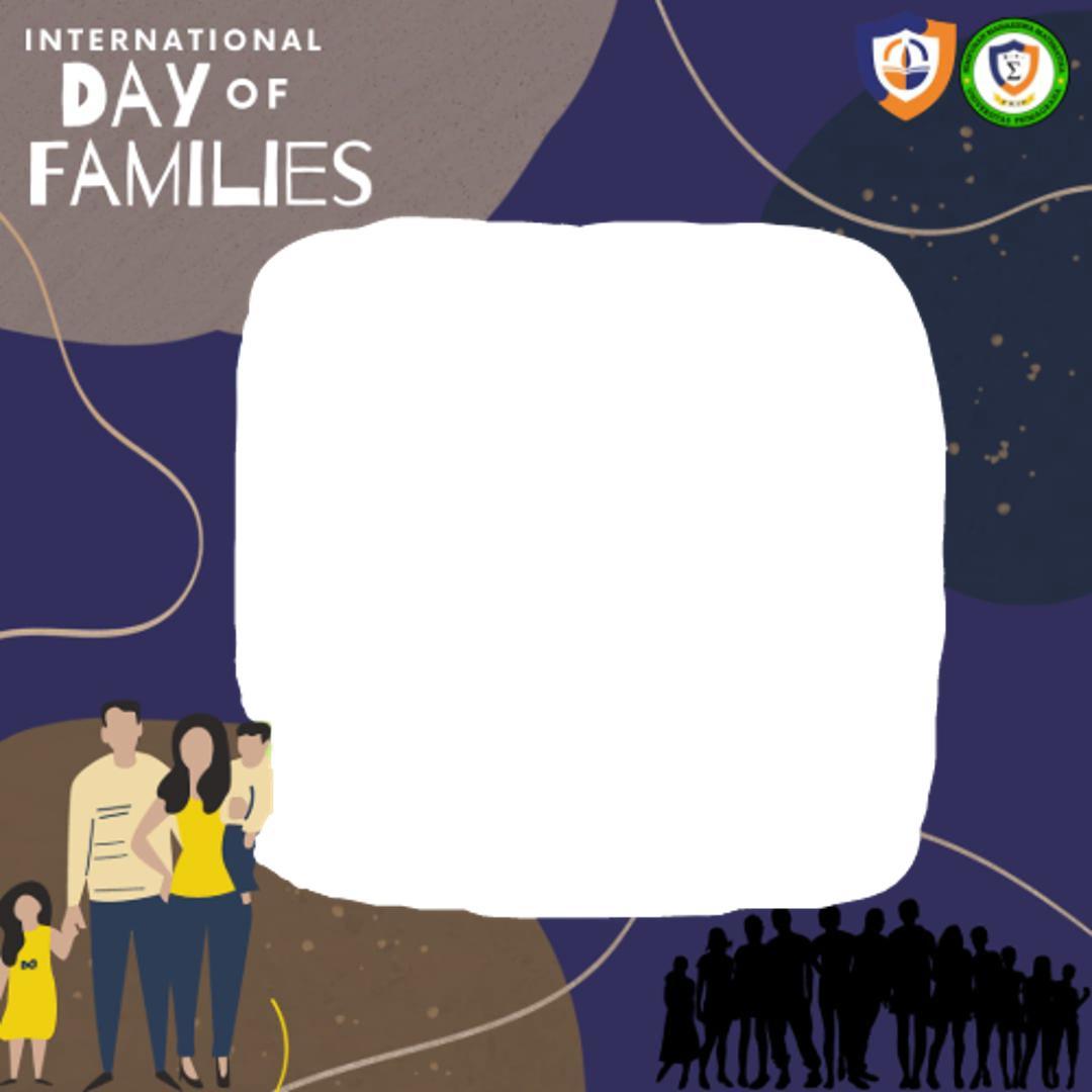 Bingkai foto Twibbon international day of families 2021