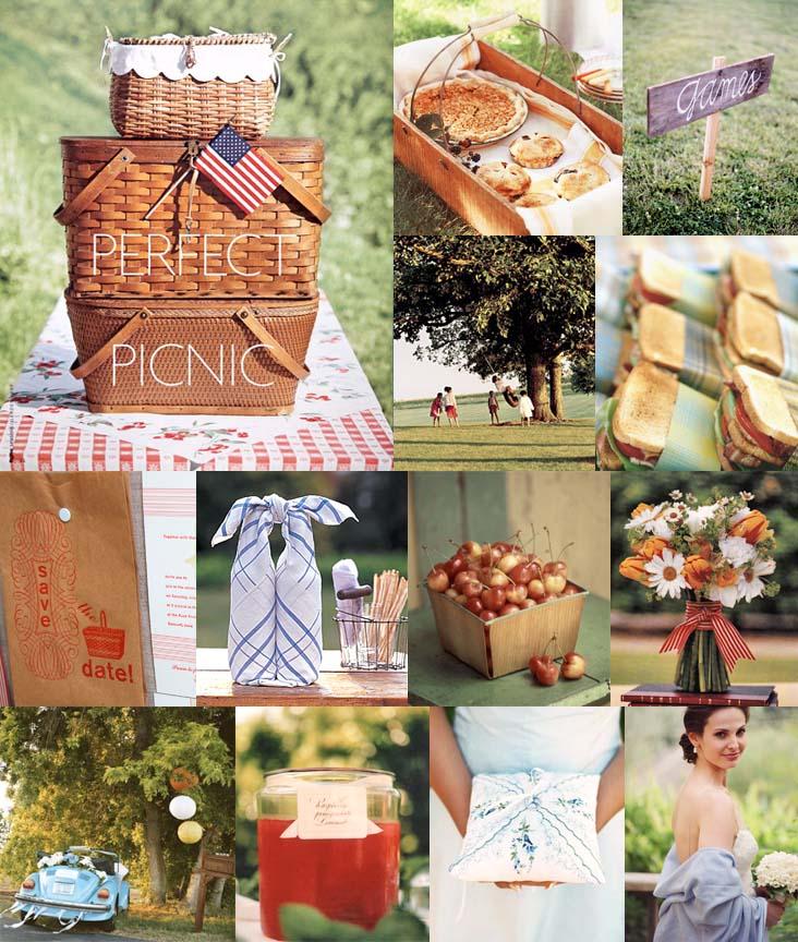 Beach Wedding Food Ideas: Too Stinkin' Cute: Picnic Love