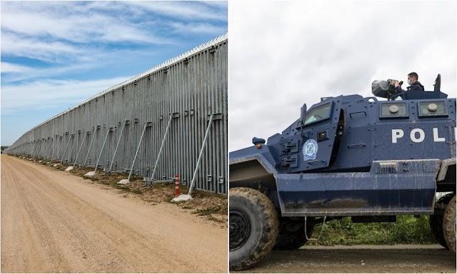 Έβρος: Ατσάλινος φράχτης, drones και «ηχητικό κανόνι» θωρακίζουν τα σύνορα και προκαλούν τρόμο στην Τουρκία (ΒΙΝΤΕΟ)