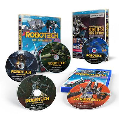 Robotech Part 1 The Macross Saga Bluray Overview