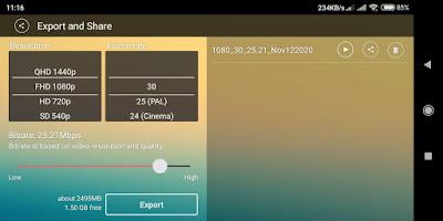 Kinemaster, aplikasi android untuk memperjelas video 07