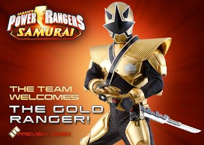 Henshin Grid Gold Samurai Ranger