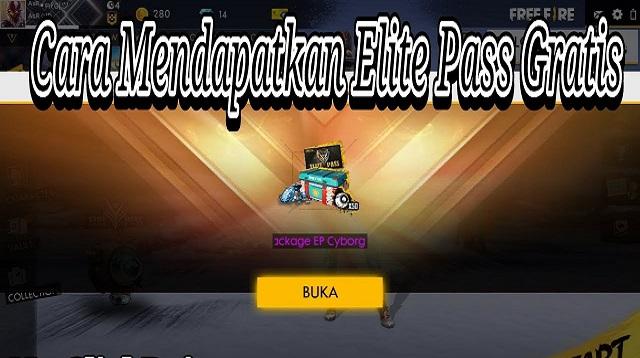 Cara Mendapatkan Elite Pass Gratis