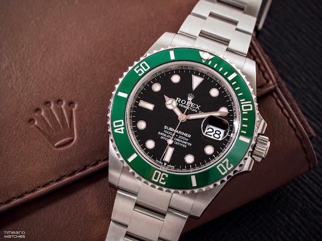"""Rolex Submariner Date 126610LV """"Cermit"""""""