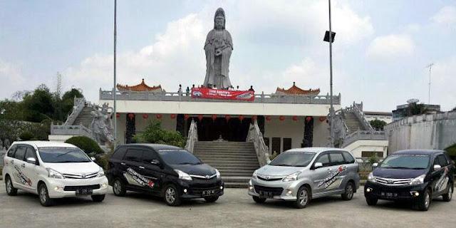Rahasia Sukses Tionghoa Siantar! Foto: Patung Dewi Kwan Im di tengah kota Pematangsiantar
