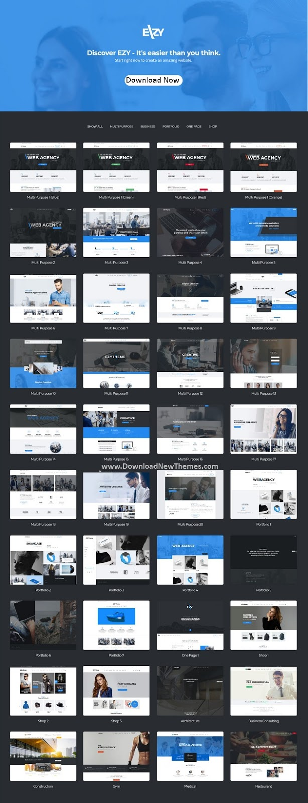 Responsive Premium Multipurpose WordPress Theme
