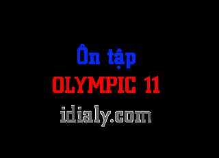Tài liệu ôn tập olympic Địa Lý  lớp 11