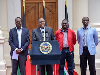 President Uhuru Kenyatta Nominates DP Ruto to lead the Poll process. PHOTO | Courtesy