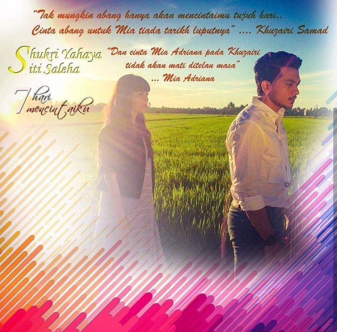 Novel 7 Hari Mencintaiku 2 Karya Hebat Siti Rosmizah Novelis