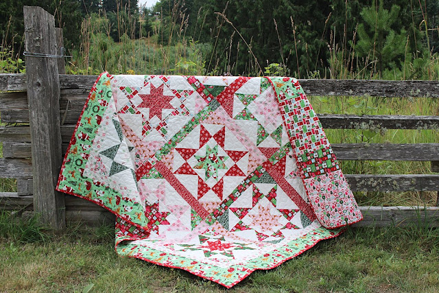 Merry & Bright Starlight Double Quilt
