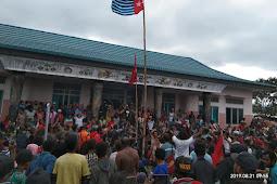 Aksi  di Fakfak sikapi Rasisme, Bendera BK Berkibar; Tapi Ini Yang Terjadi...