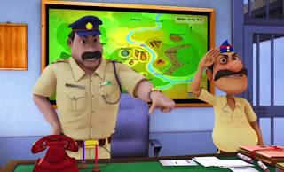 Ladoo Singh dan Jalaram, shiva antv, ladoo singh, inspektur, jalaram, inspektur ladoo singh, jalaram shiva, polisi, ladusing