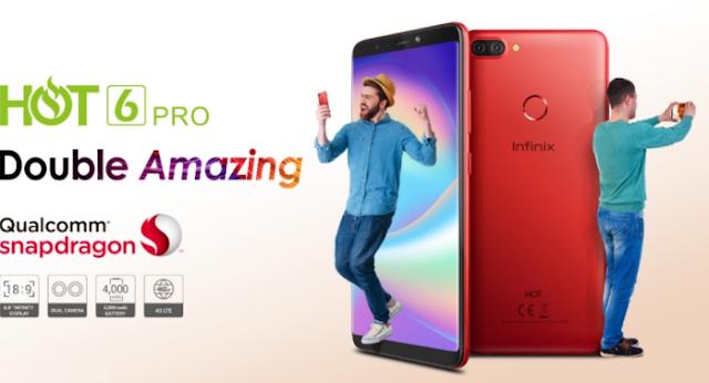 baru ini merilis smartphone terbaru mereka di indonesia ialah Spesifikasi Infinix Hot 6 Pro Paling Lengkap dan Terbaru