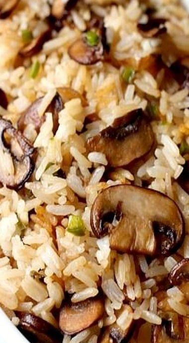Spicy Mushroom Rice Recipe