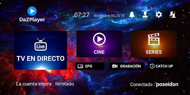 DazPlayer APK TV Gratis Diciembre 2018 Premium