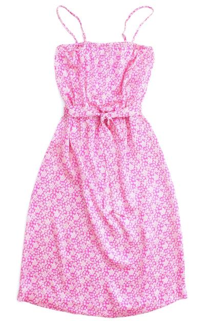 Flora Henri Satin Dress