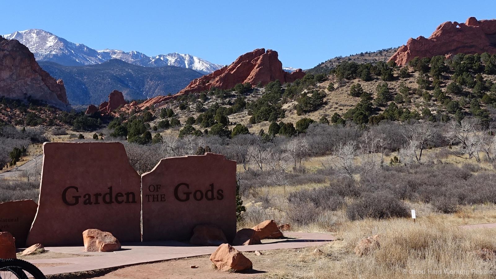 Photos From The Garden Of The Gods Colorado