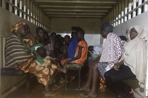 Police Rescue 28 People Chained In A House In Lagos - See Photo